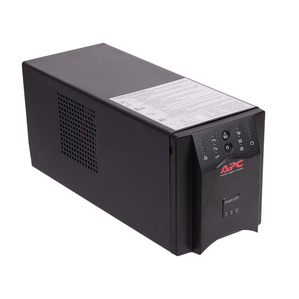 Интерактивный ИБП APC by Schneider Electric Smart-UPS 750VA/500W USB Serial 230V SUA750I