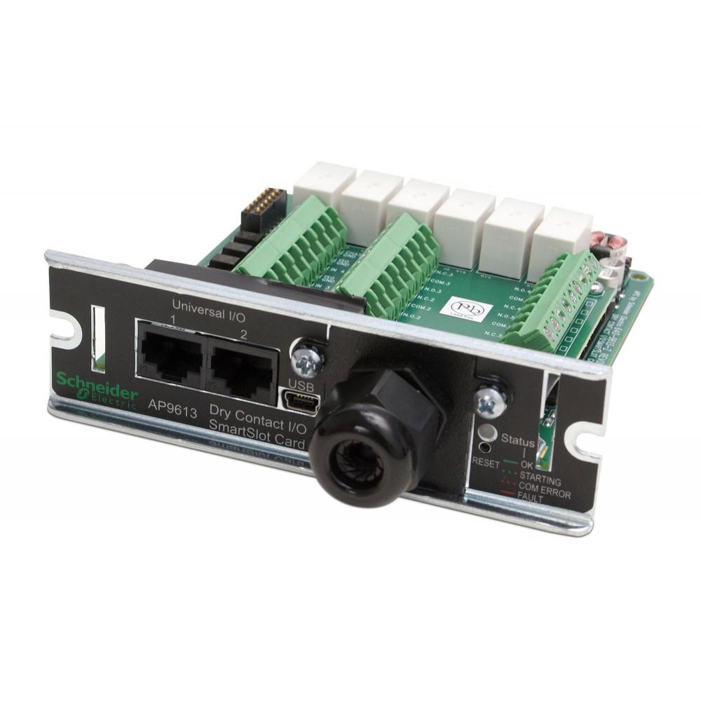 Плата ввода-вывода SmartSlot с беспотенциальными контактами AP9613