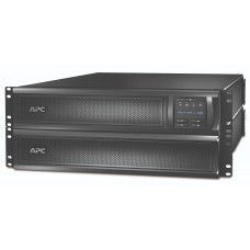 ИБП APC by Schneider Electric Smart-UPS X 3000VA R/T LCD 200-240V with Network Card SMX3000RMHV2UNC