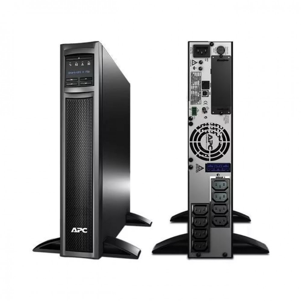 ИБП APC by Schneider Electric Smart-UPS X 750VA Rack/Tower LCD 230V  SMX750I