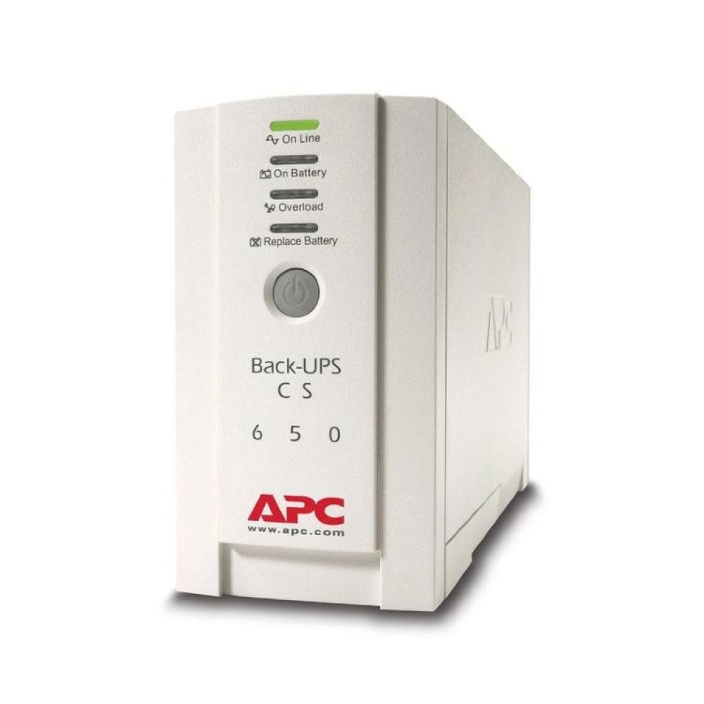 Резервный ИБП APC Back-UPS CS 650VA 230V BK650EI